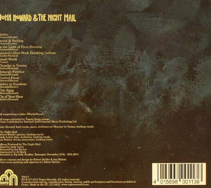 HOWARD, John & THE NIGHT MAIL - John Howard & The Night Mail