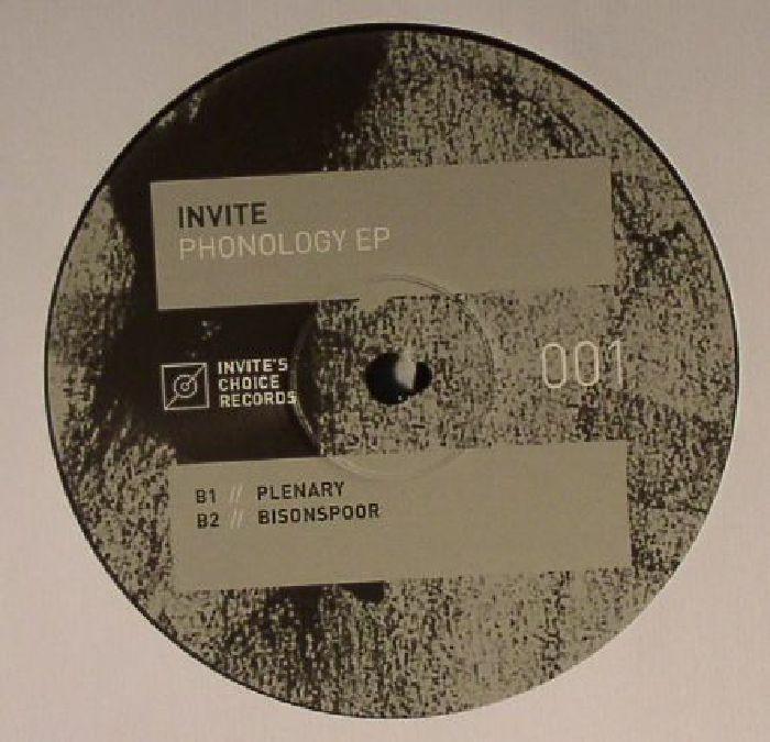 INVITE - Phonology EP