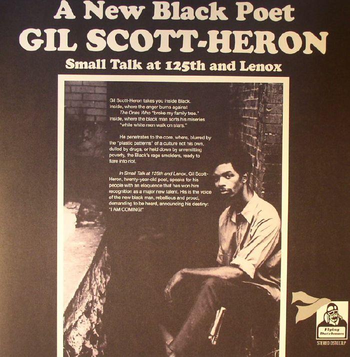 SCOTT HERON, Gil - A New Black Poet: Small Talk At 125th & Lenox