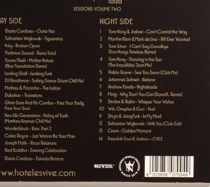 NOVY, Tom/VARIOUS - Hotel Es Vive Ibiza Sessions Volume Two