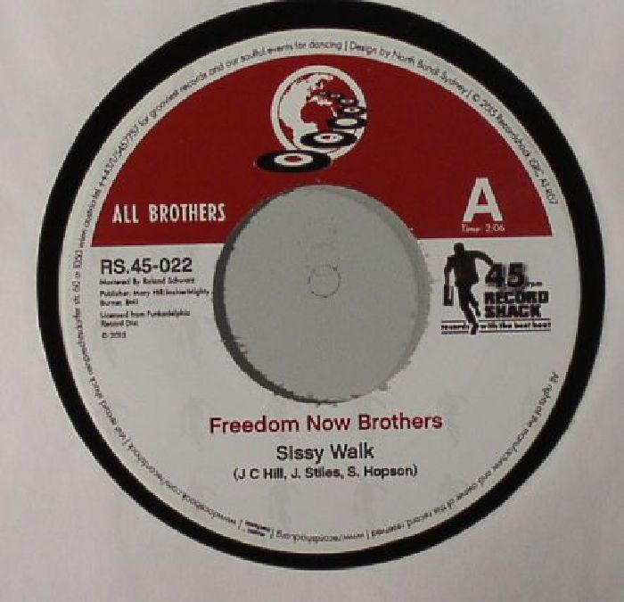 FREEDOM NOW BROTHERS/RDM BAND - Sissy Walk