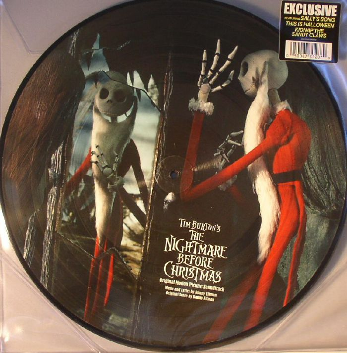 Danny ELFMAN The Nightmare Before Christmas (Soundtrack) vinyl at ...