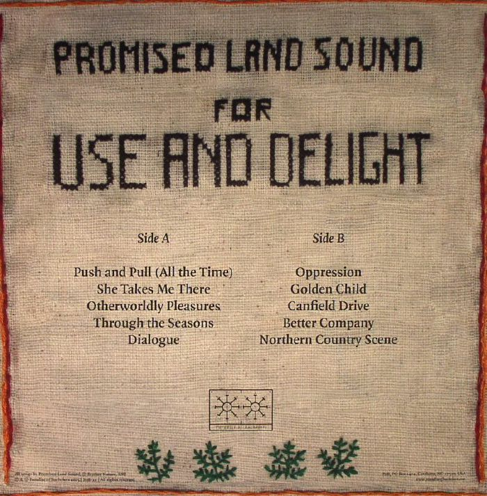 PROMISED LAND SOUND - For Use & Delight
