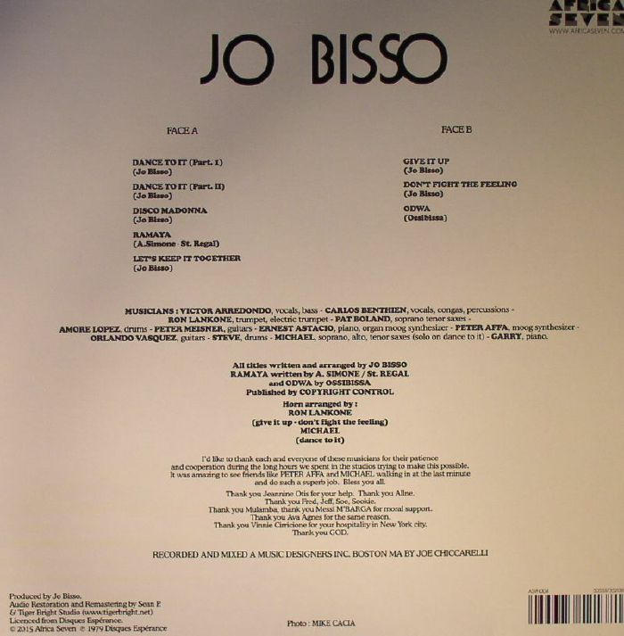 BISSO, Jo - Dance To It