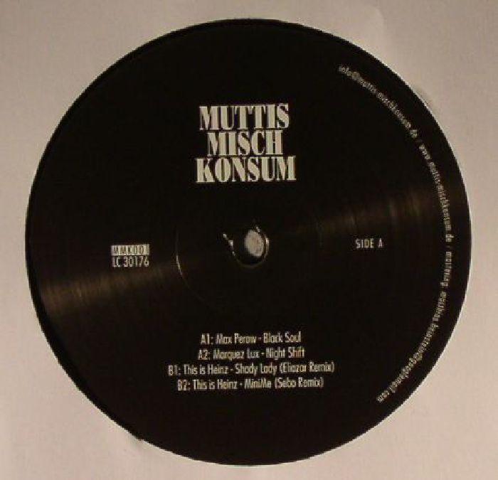PEROW, Max/MARQUEZ LUX/THIS IS HEINZ - Muttis Misch Konsum 001