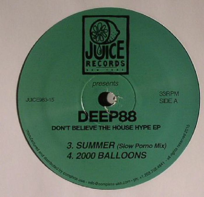 DEEP88 - Don't Believe The House Hype EP