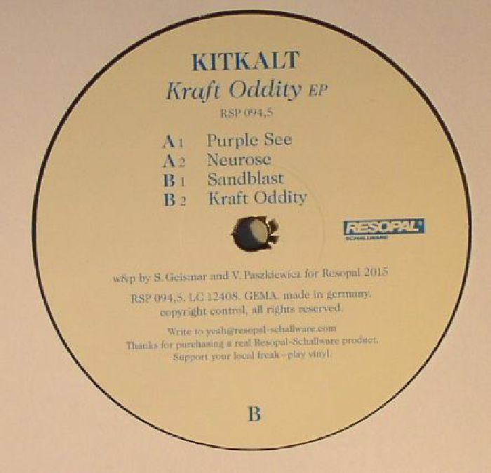KITKALT - Kraft Oddity EP