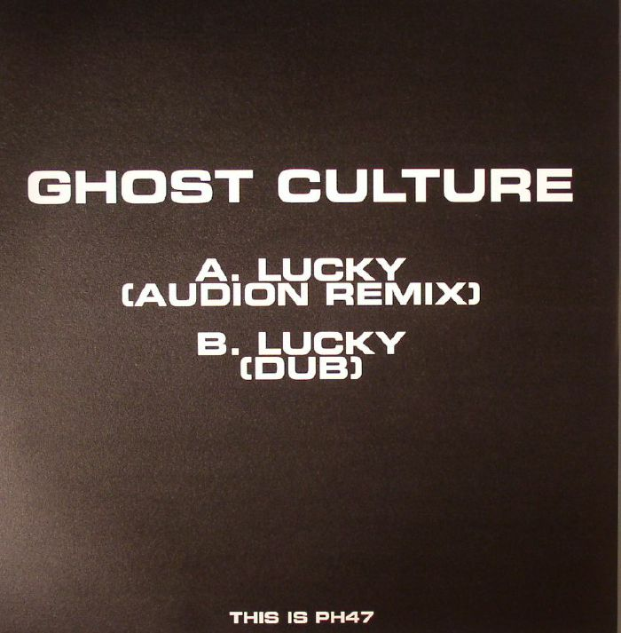 GHOST CULTURE - Lucky (Audion remix)