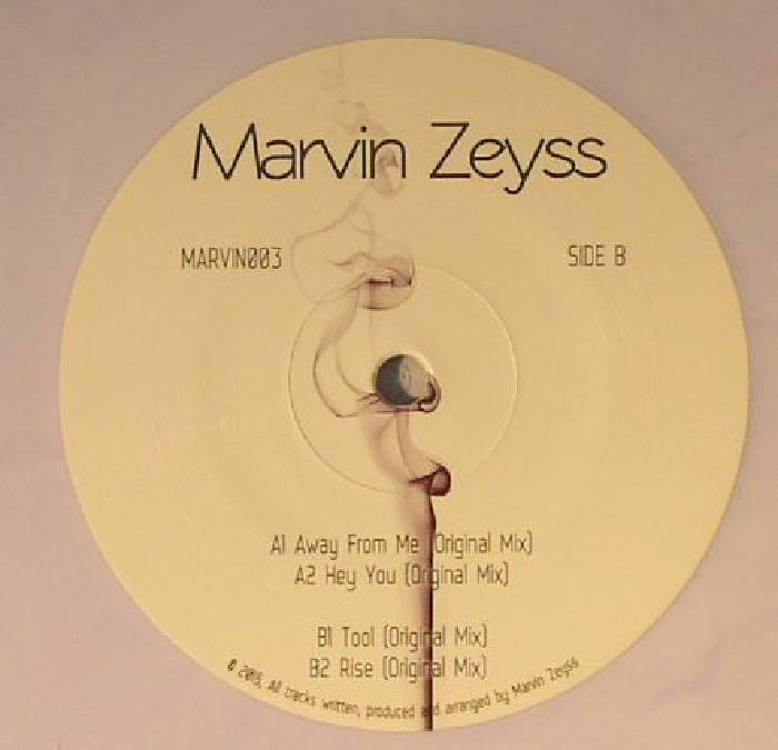 ZEYSS, Marvin - Away From Me