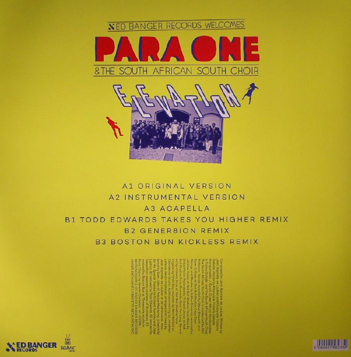 PARA ONE/THE SOUTH AFRICAN SOUTH CHOIR - Elevation
