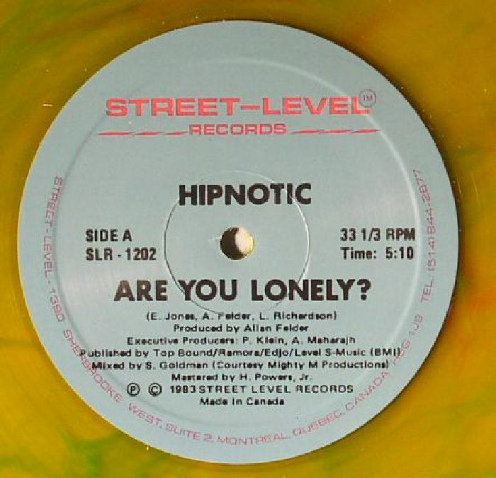HIPNOTIC - Are You Lonely?