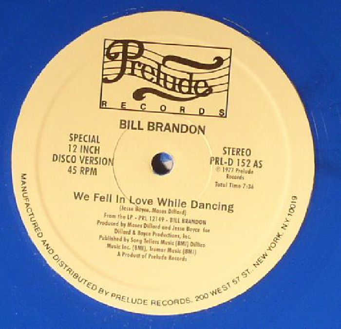 BRANDON, Bill - We Fell In Love While Dancing