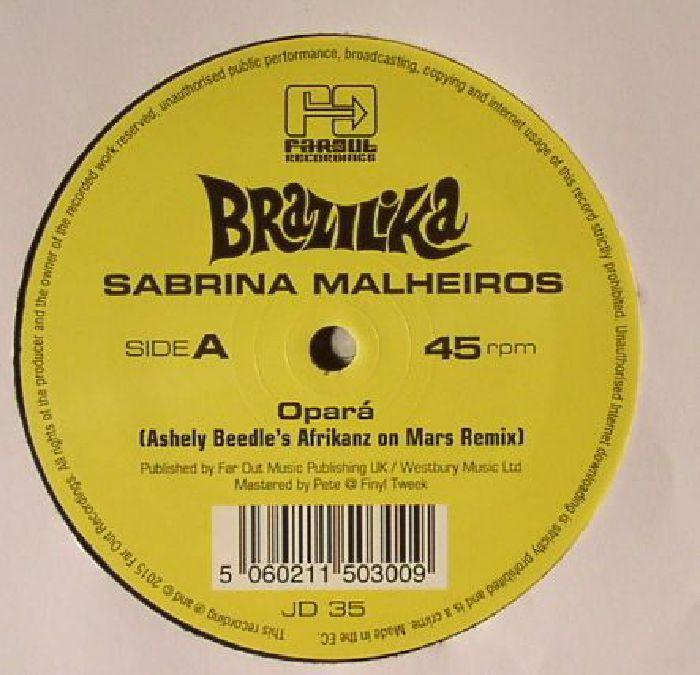 MALHEIROS, Sabrina - Opara (Ashely Beedle's Afrikanz On Mars remixes)