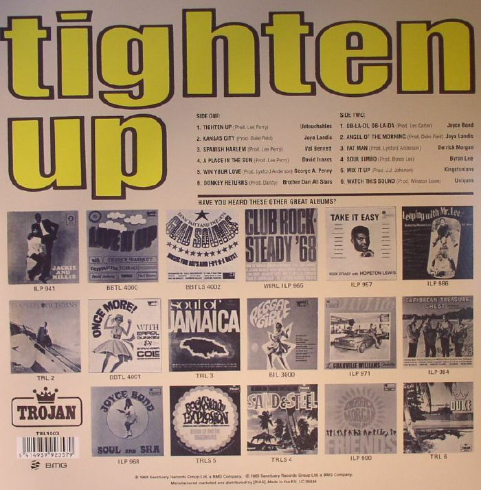VARIOUS - Tighten Up Vol 1: With All The Best Sounds From The West Indies