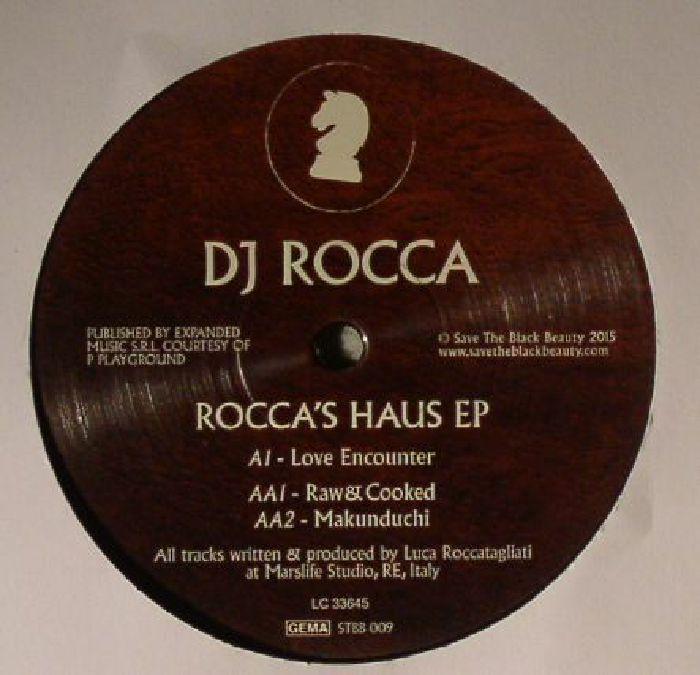 DJ ROCCA - Rocca's Haus EP
