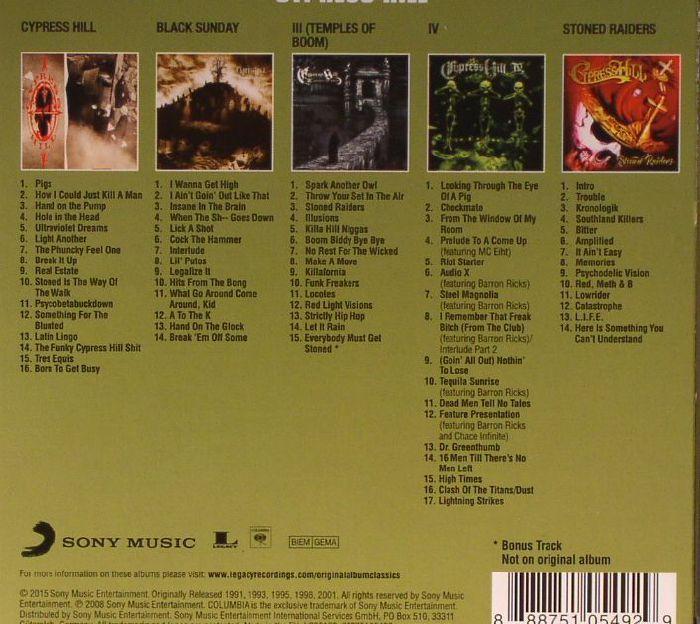Cypress Hill Original Album Classics Vinyl At Juno Records