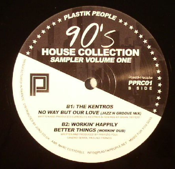 DJ DEVICE/DEVIBES/THE KENTROS/WORKIN' HAPPILY - 90's House Collection Sampler 1