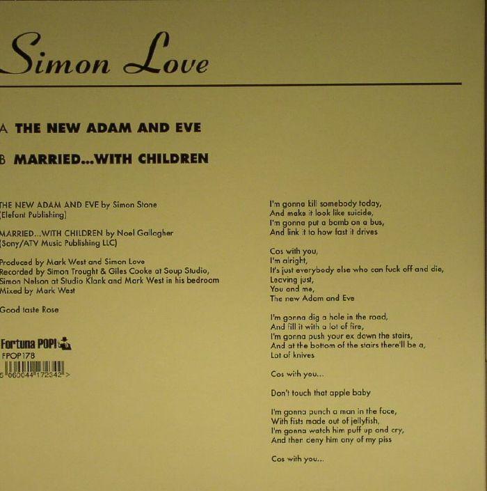 LOVE, Simon - The New Adam & Eve