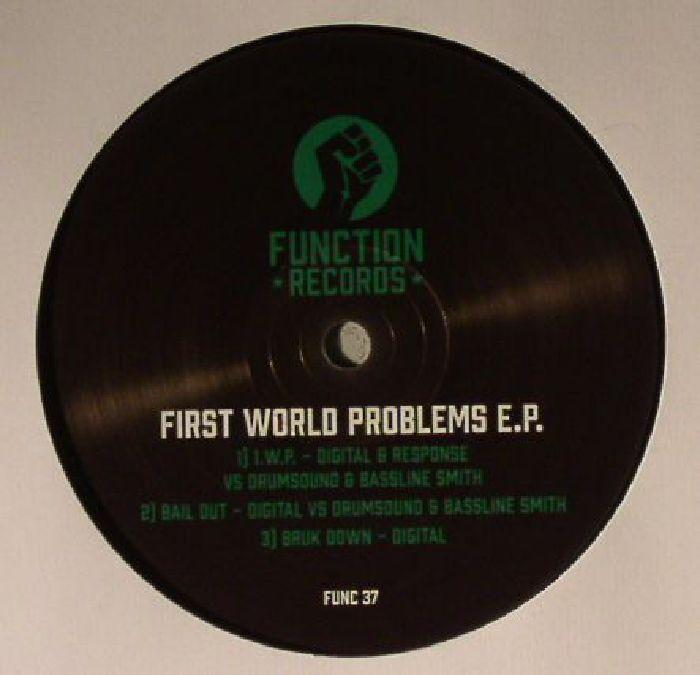 DIGITAL/RESPONSE vs DRUMSOUND/BASSLINE SMITH - First World Problems EP