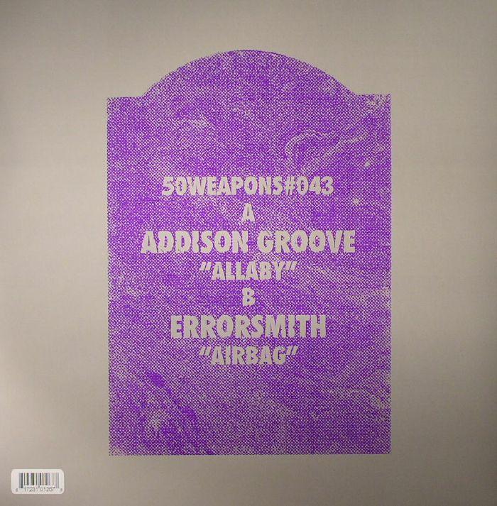 ADDISON GROOVE/ERRORSMITH - Allaby