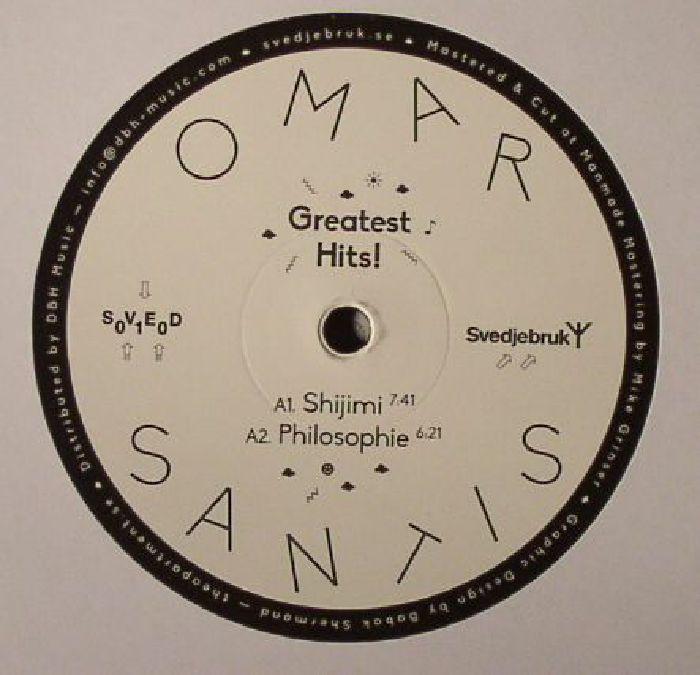 Omar SANTIS Greatest Hits! vinyl at Juno Records