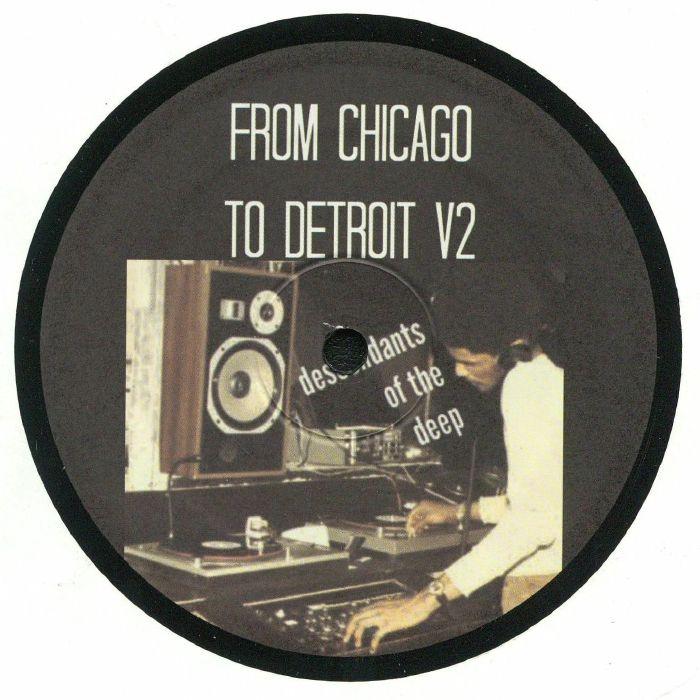 ROMALIS, Gari/JORDAN FIELDS/MAXI AUBERT/AFRICANS WITH MAINFRAMES/GENE HUNT - From Chicago To Detroit V2