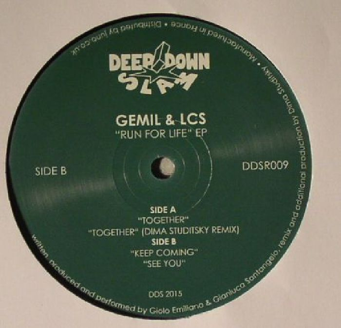 GEMIL/LCS - Run For Life EP