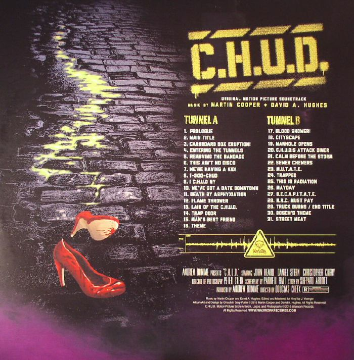 COOPER, Martin/DAVID HUGHES - CHUD (Soundtrack)