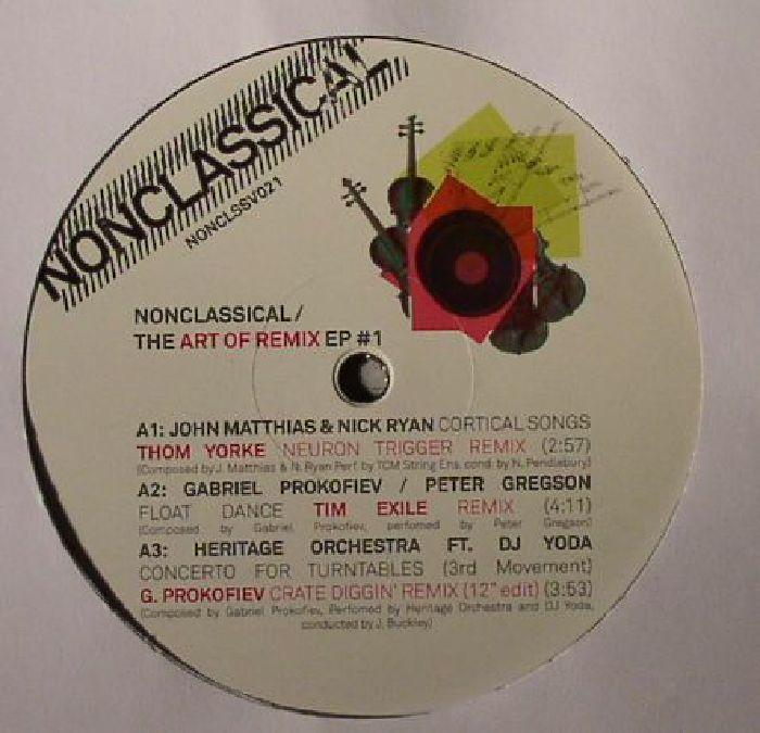 MATTHIAS, John/NICK RYAN/GABRIEL PROKOFIEV/PETER GREGSON/HERITAGE ORCHESTRA/POWERPLANT/GENIA - The Art Of Remix EP 1