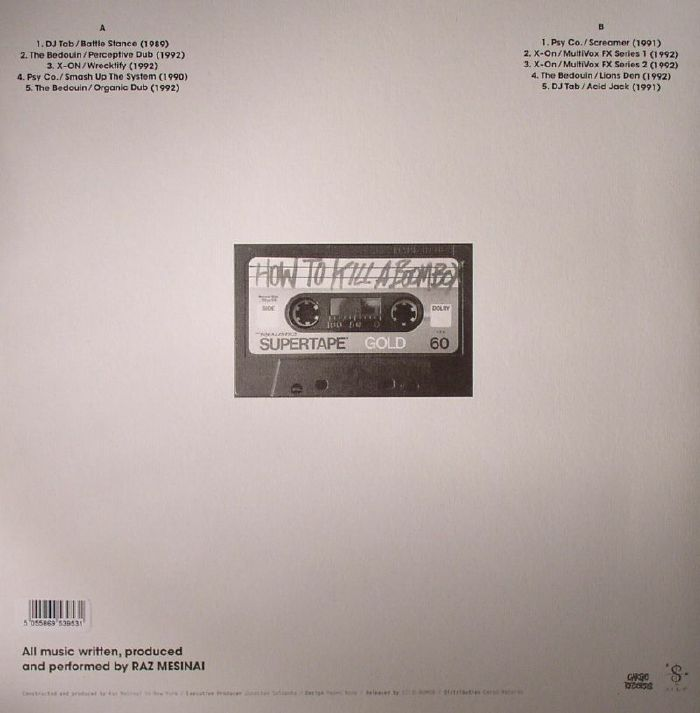 VARIOUS - How To Kill A Boombox: Underground Casette Productions 1989-92