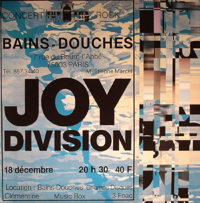 Joy division live at les bains douches paris december 18 1979 vinyl at juno records - Les bains douche paris discotheque ...