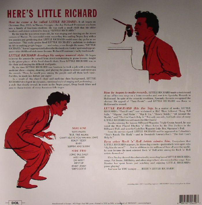 LITTLE RICHARD - Here's Little Richard