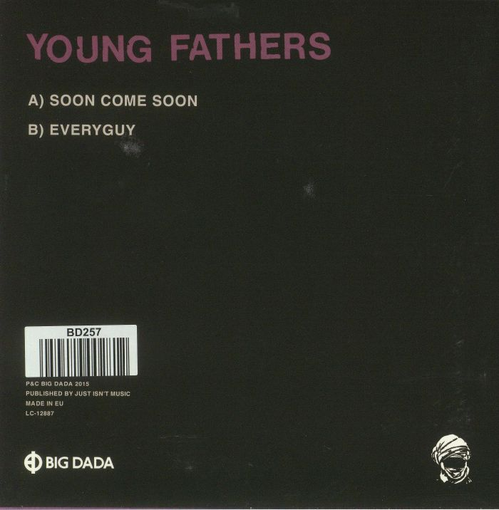 YOUNG FATHERS - Soon Come Soon