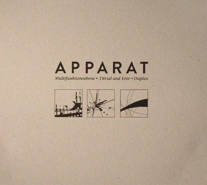 APPARAT - Multifunktionsebene/Tttrial & Eror/Duplex