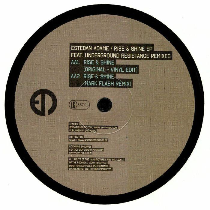 ADAME, Esteban - Rise & Shine EP