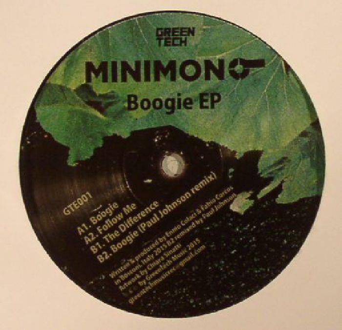 MINIMONO - Boogie (Paul Johnson remix)