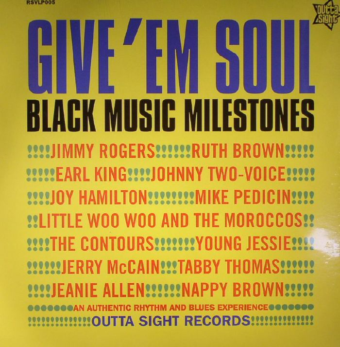VARIOUS - Give Em Soul Vol 2: Black Music Milestones (mono)