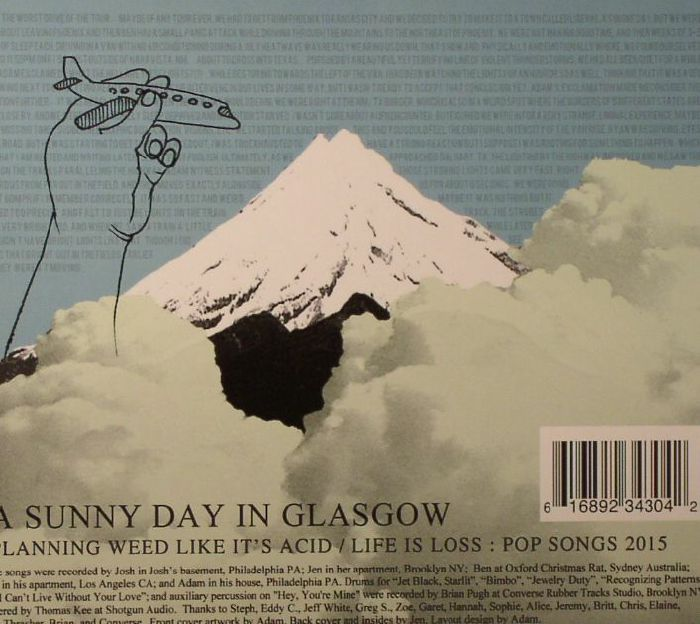 A Sunny Day In Glasgow Planning Weed Like It S Acid Life Is Loss Pop Songs 2015 Vinyl At Juno