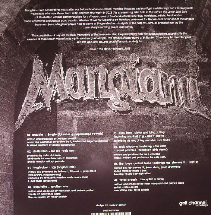 HUMPHRIES, Tony/VARIOUS - Mangiami: La Compilation