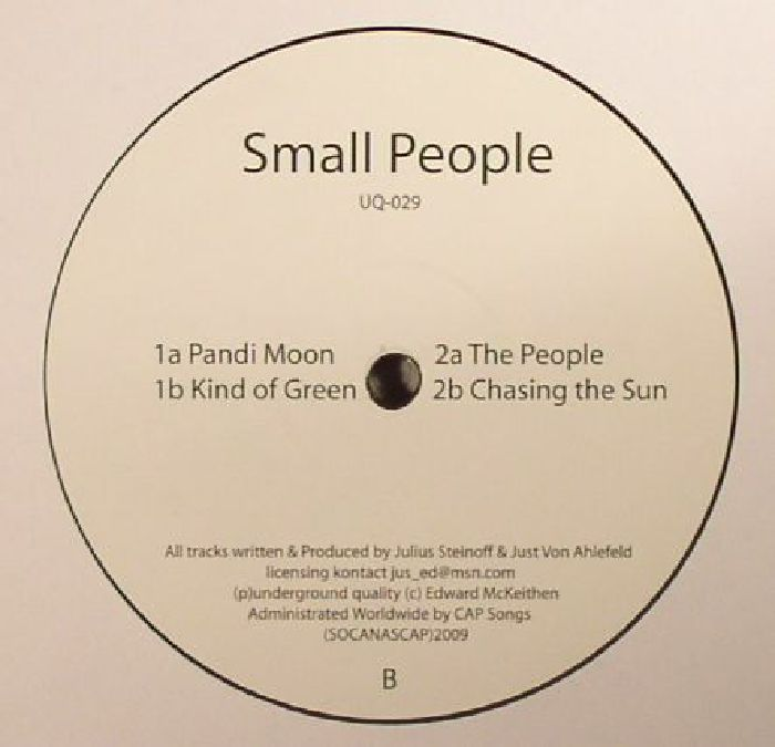 SMALLPEOPLE - The Artist's Smallpeople Reping Hamburg! (reissue)