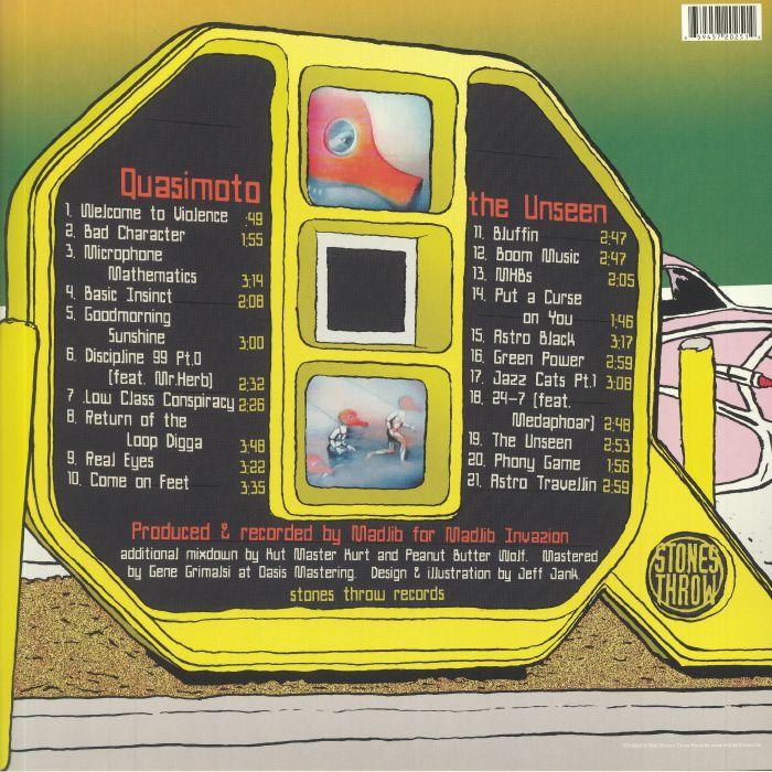 Quasimoto The Unseen Vinyl At Juno Records