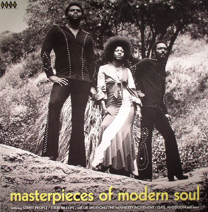 CROASDELL, Ady/VARIOUS - Masterpieces Of Modern Soul (remastered)
