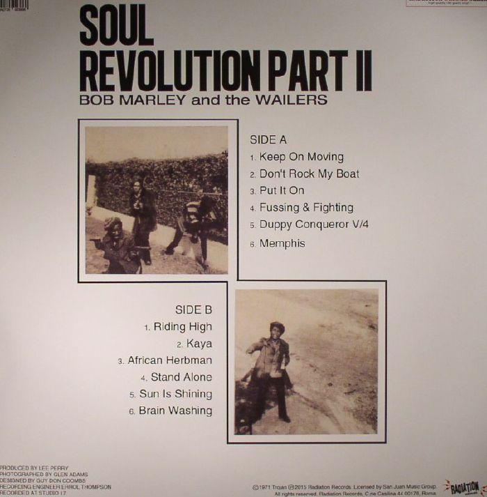 bob marley amp the wailers soul revolution part 2 vinyl at