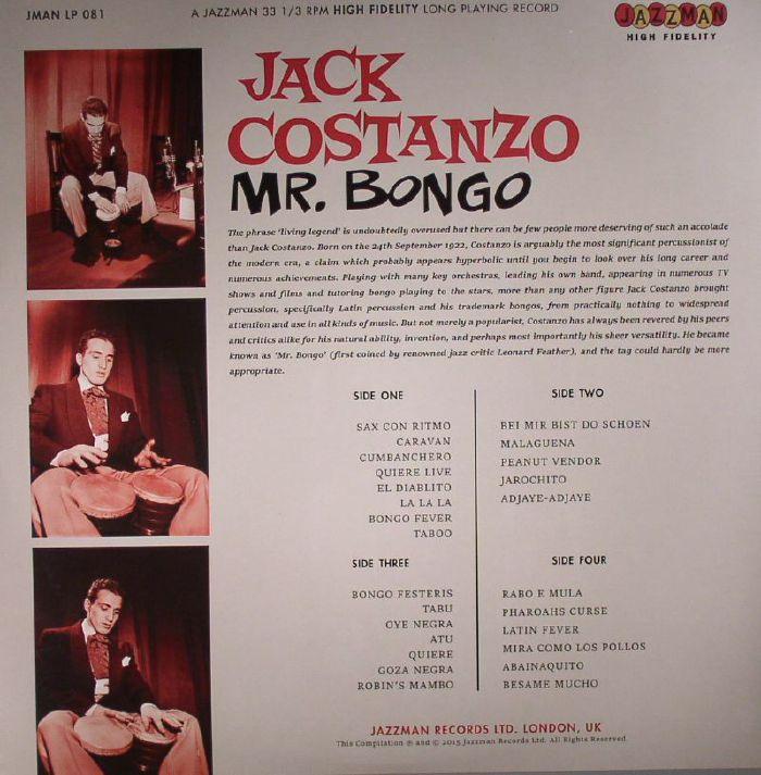 COSTANZO, Jack - Mr Bongo