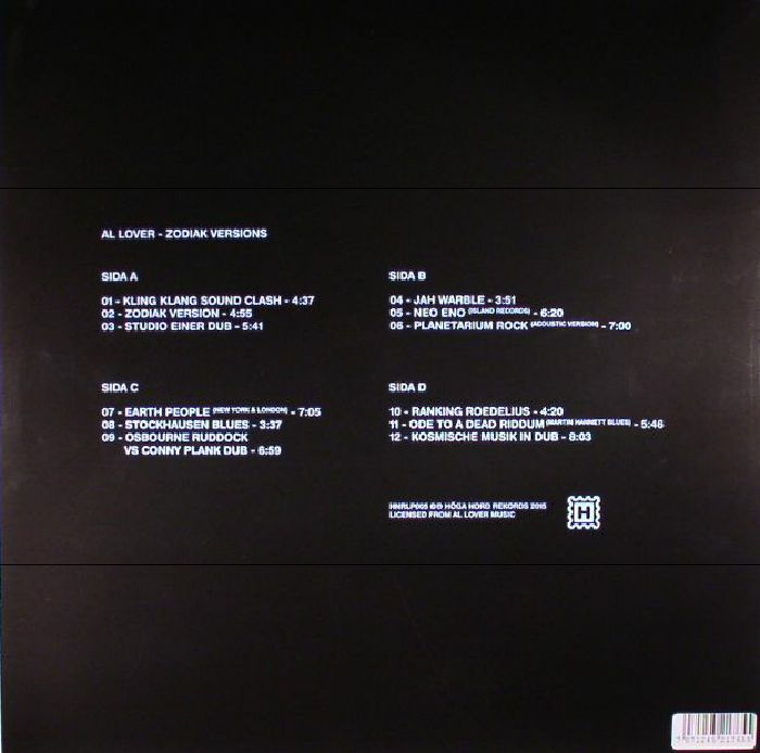 AL LOVER - Zodiak Versions