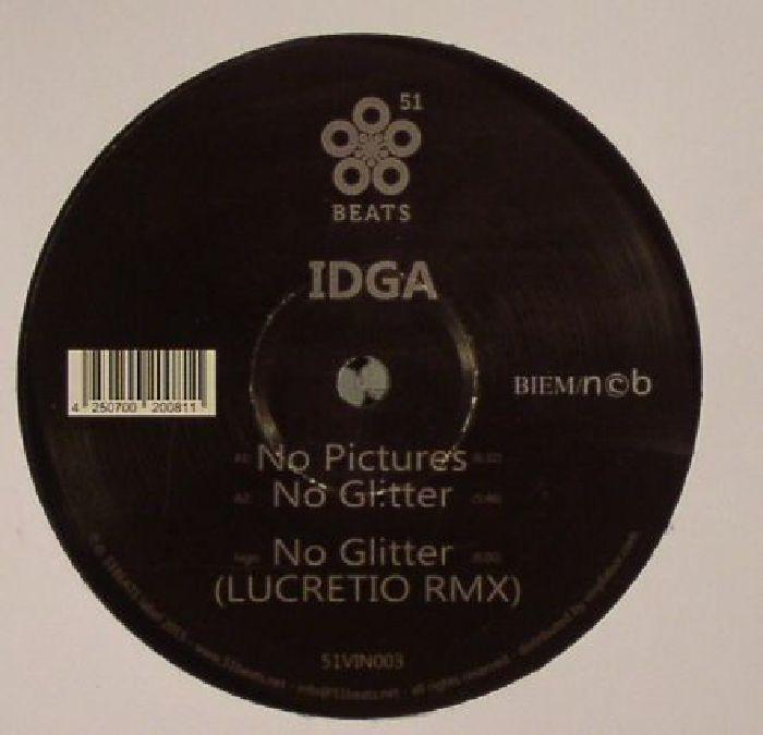 IDGA - No Pictures/No Glitter