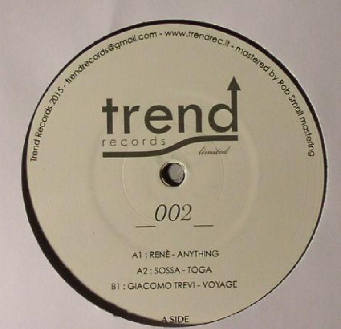 RENE/SOSSA/GIACOMO TREVI - Trend Records Limited 002