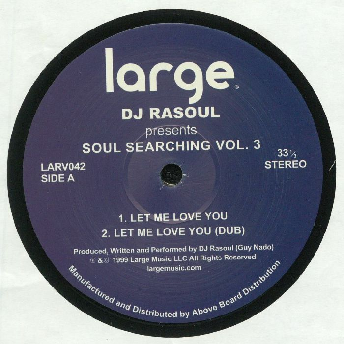 DJ RASOUL - Soul Searching Vol 3