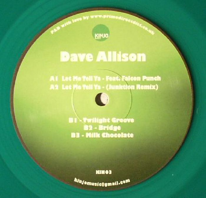 ALLISON, Dave - Let Me Tell Ya