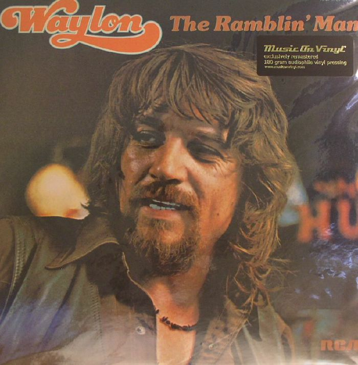 Waylon Jennings The Ramblin Man Remastered Vinyl At Juno